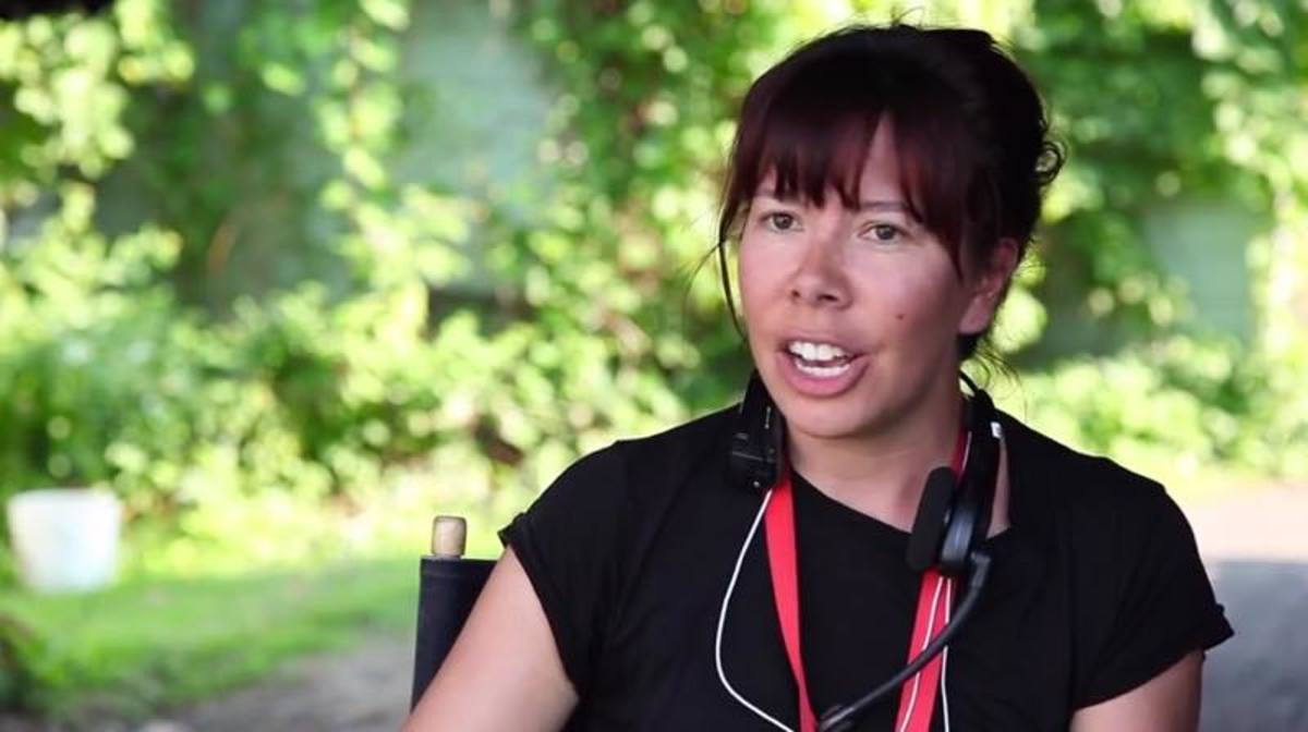 'Mohawk Girls' creator Tracey Deer in a 2016 interview (Courtesy image)