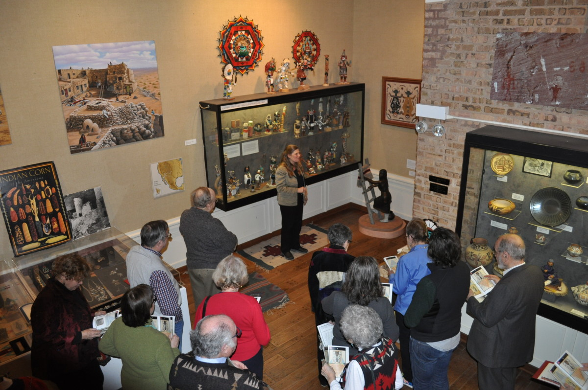 An Exhibit Tour 2017 at the Mitchell Museum of the American Indian
