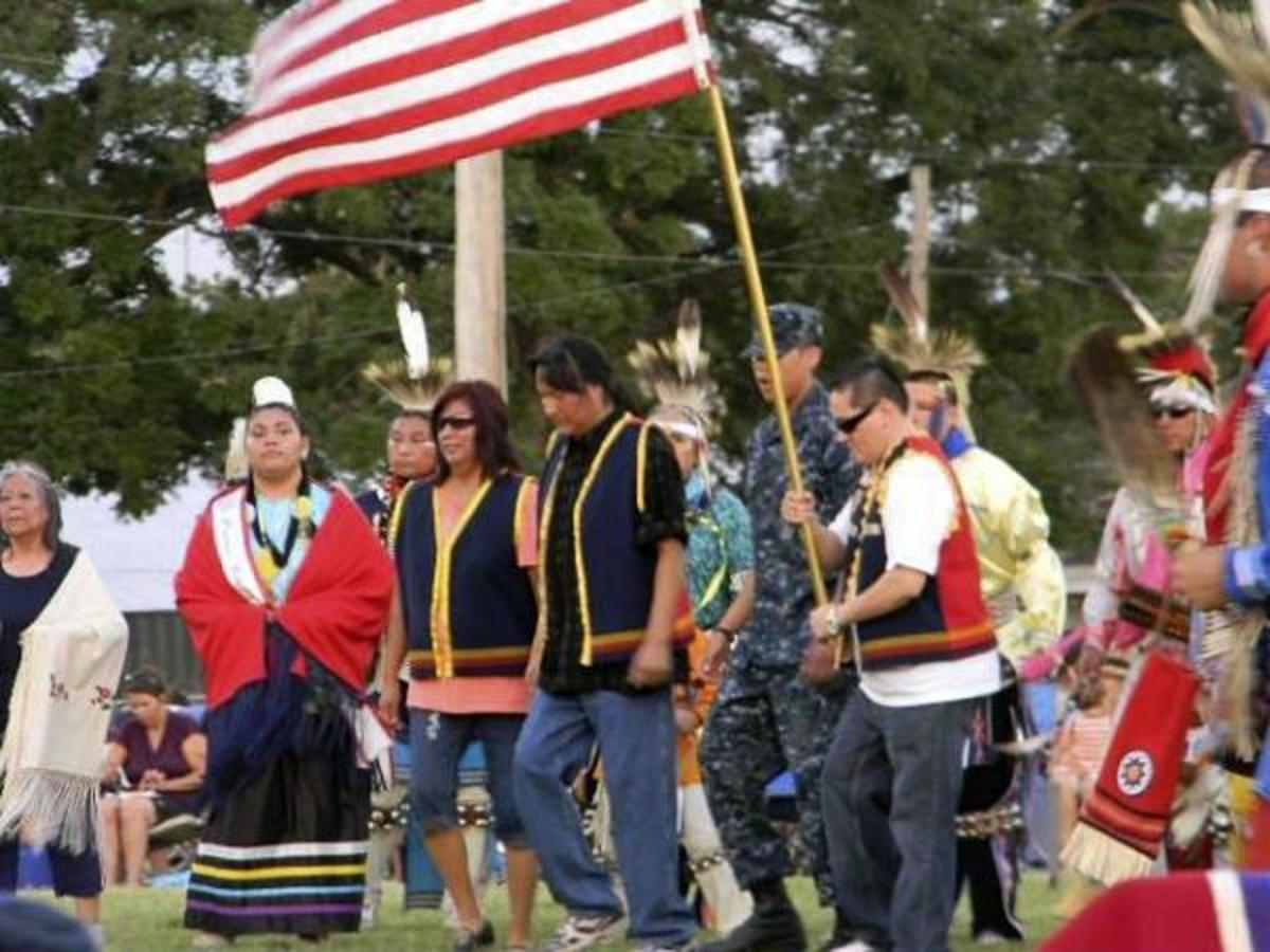The Pawnee Indian Veterans Homecoming Pow Wow.