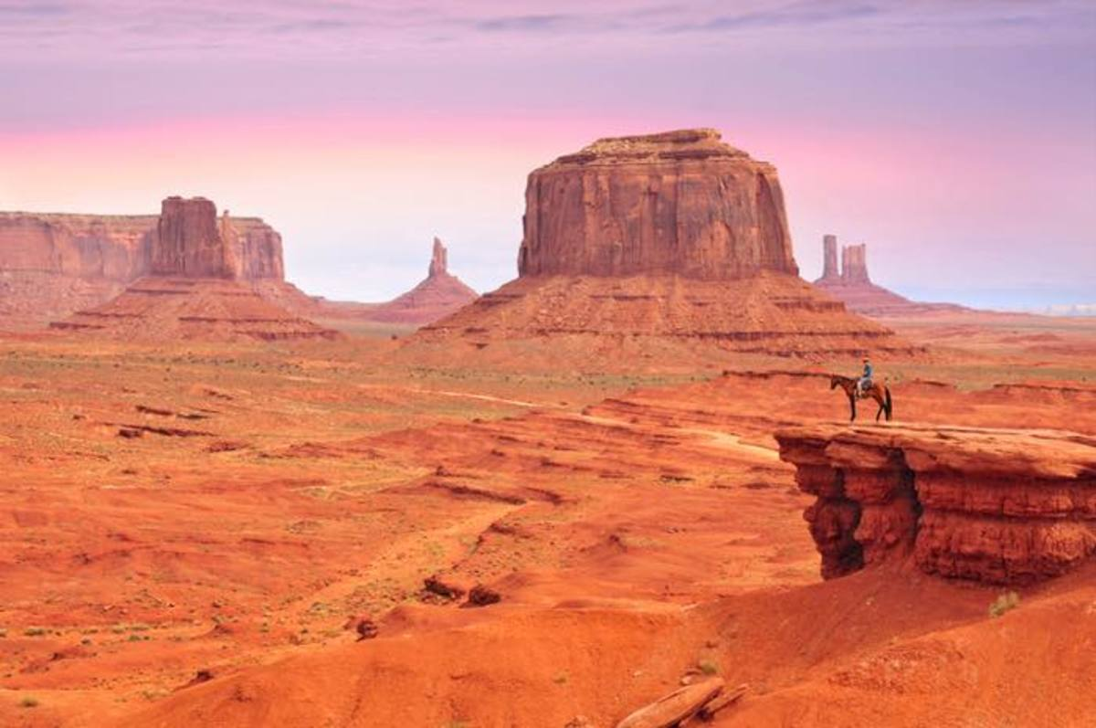 Monument Valley, John Ford, Stagecoach, The Searchers, Navajo Nation, Captain John G. Walker, Westerns, American West, Valley of the Rocks, Tsé Bii' Ndzisgaii, Navajo, The Mittens, The View, The View hotel, John Ford's Point, Navajo Guides, Cultural Views, Cultural Significance, Scenic Views, Navajo Parks and Recreation