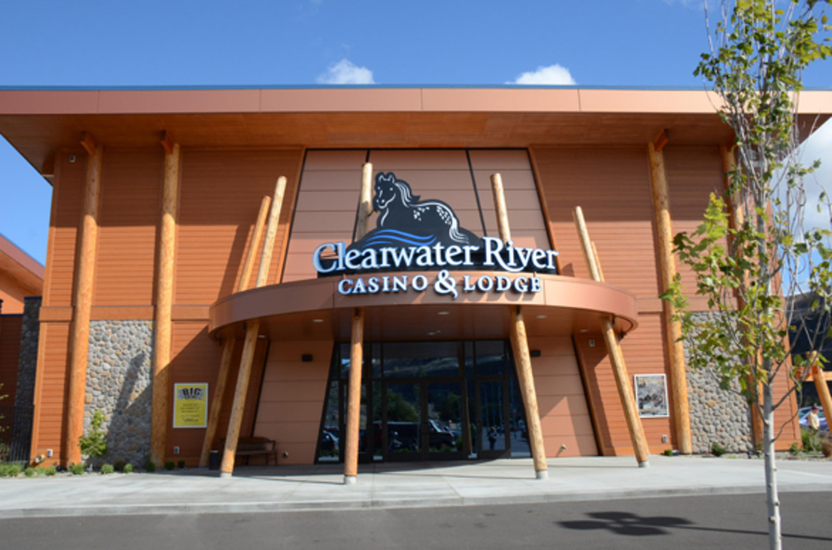 Clearwater River Casino and Lodge on Nez Perce Reservation.