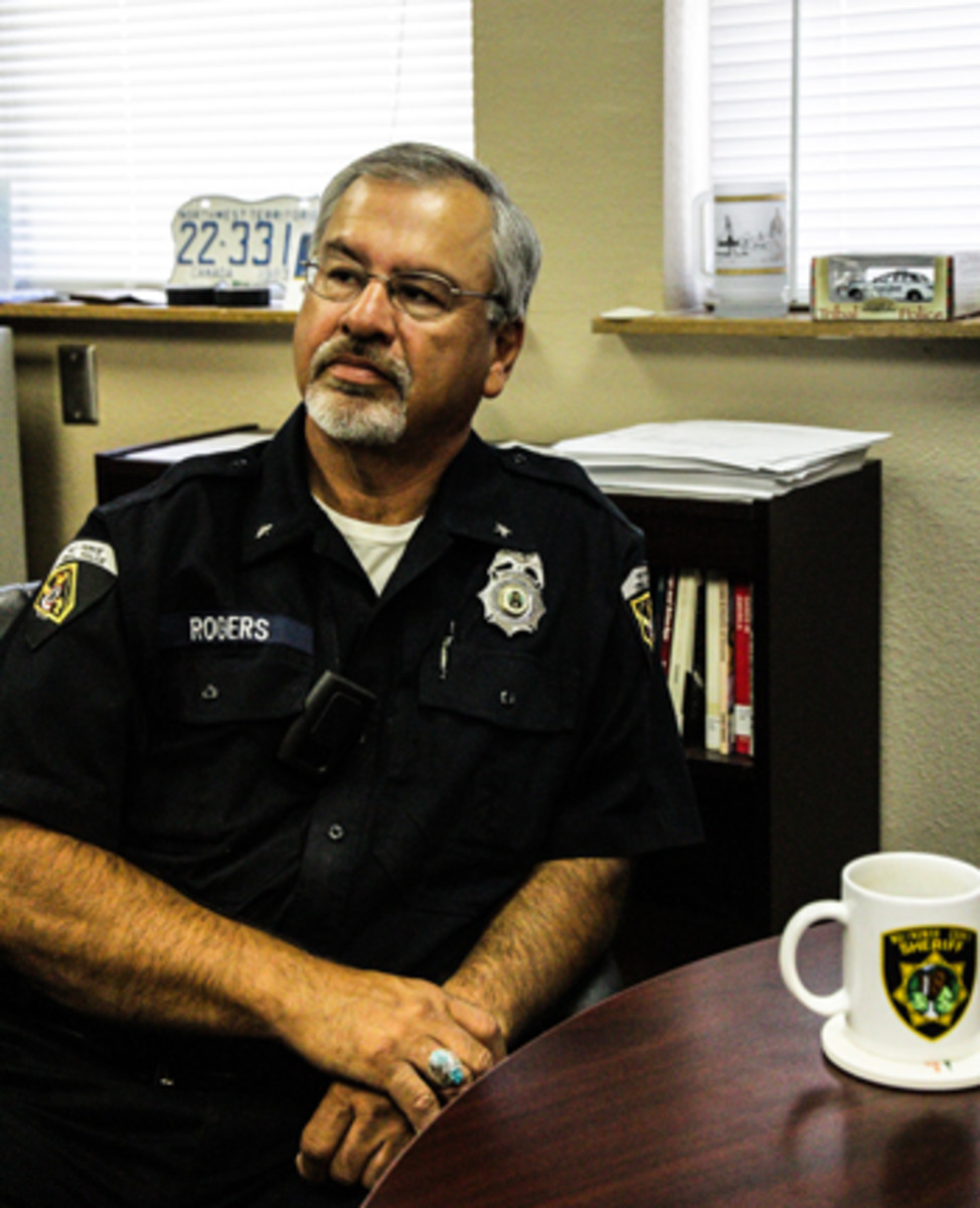 David Rodgers when serving as Nez Perce police chief.