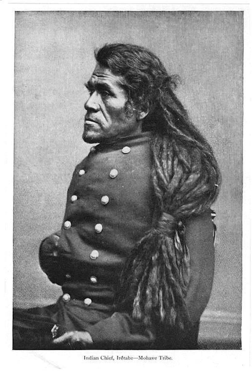 Mohave Chief Irétabe, undated.