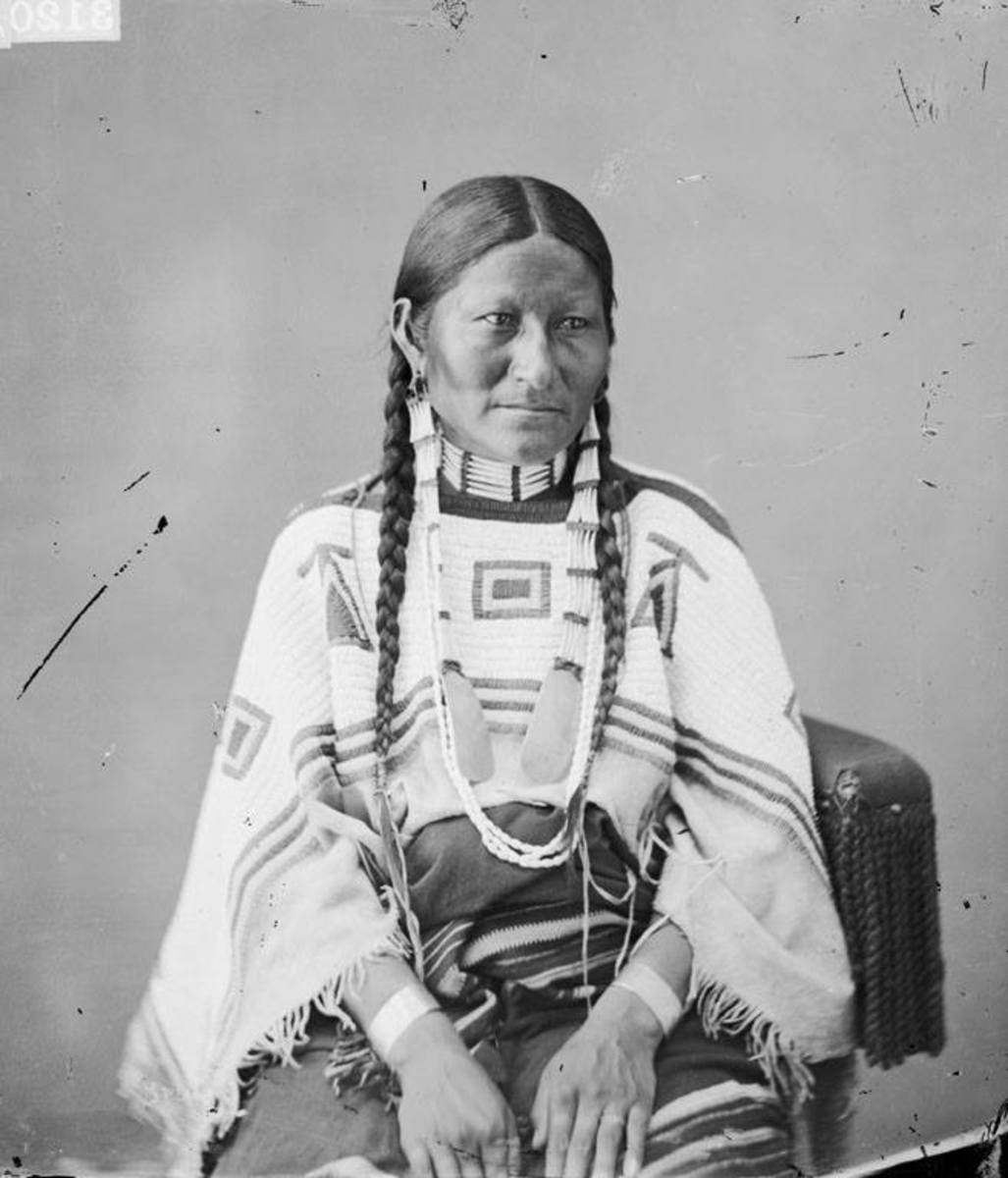 Wife of Spotted Tail, Sicangu Sioux, 1872.