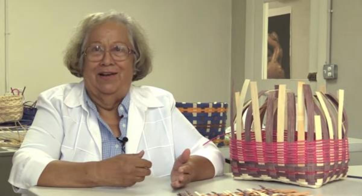 Cherokee Elder Thelma Vann Forrest talks about growing up Cherokee.