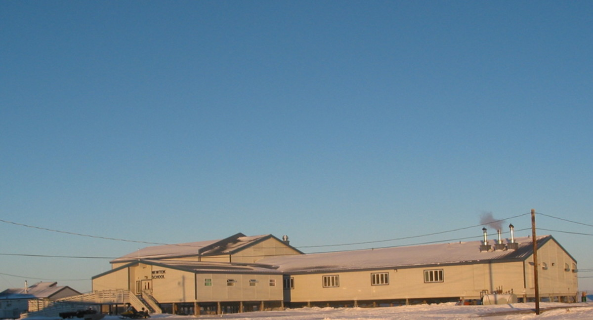 Ayaprun Elitnaurvik School, where Alaska teacher Isabelle Dyment taught, is one of the newest in the school district.