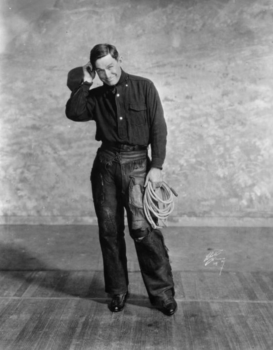 Will Rogers, Cherokee (Photo courtesy of the Will Rogers Memorial Museum)