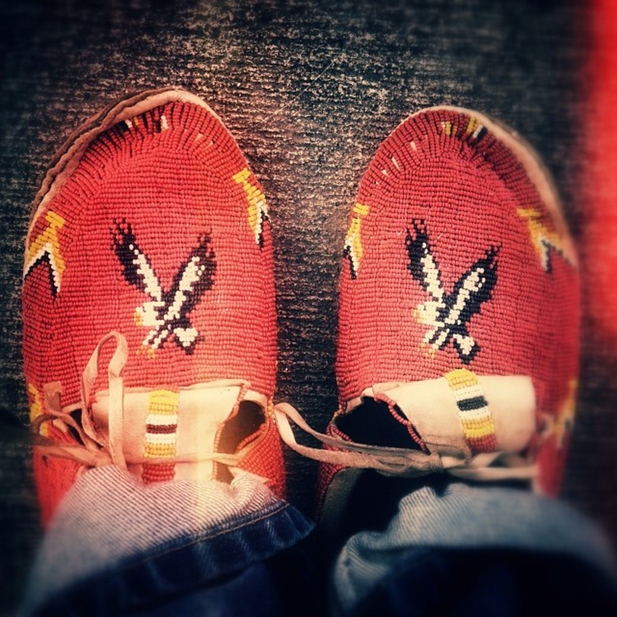 Rock Your Mocs: Ryan Red Corn, Osage.