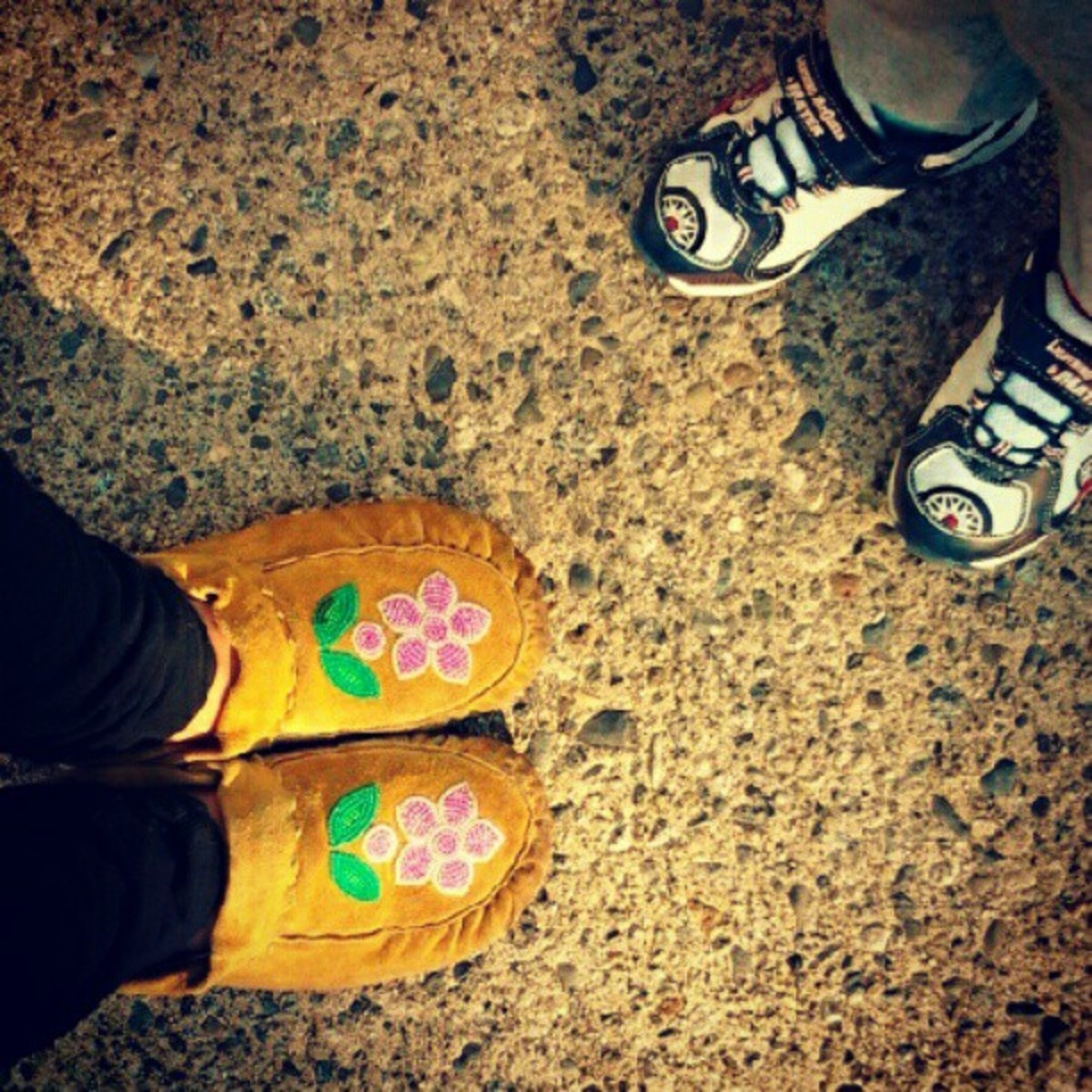 Rock Your Mocs: JB the First Lady, Nuxalk/Cayuga.