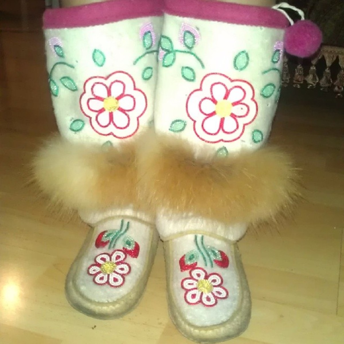 Rock Your Mocs: Crystle Lightning, Enoch Cree.