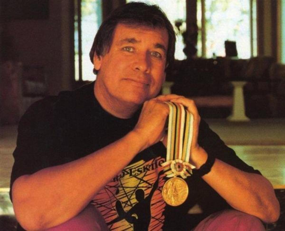 Billy Mills is the only American to ever win the 10,000 meters Olympic race. He took home the gold medal in 1964. (Courtesy of Running Strong for American Indian Youth)