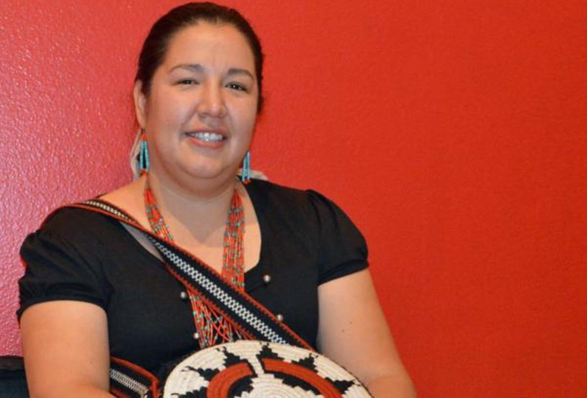 """Navajo Nation Council delegate Amber Kanazbah Crotty says women need """"to push the boundary of expectations."""""""