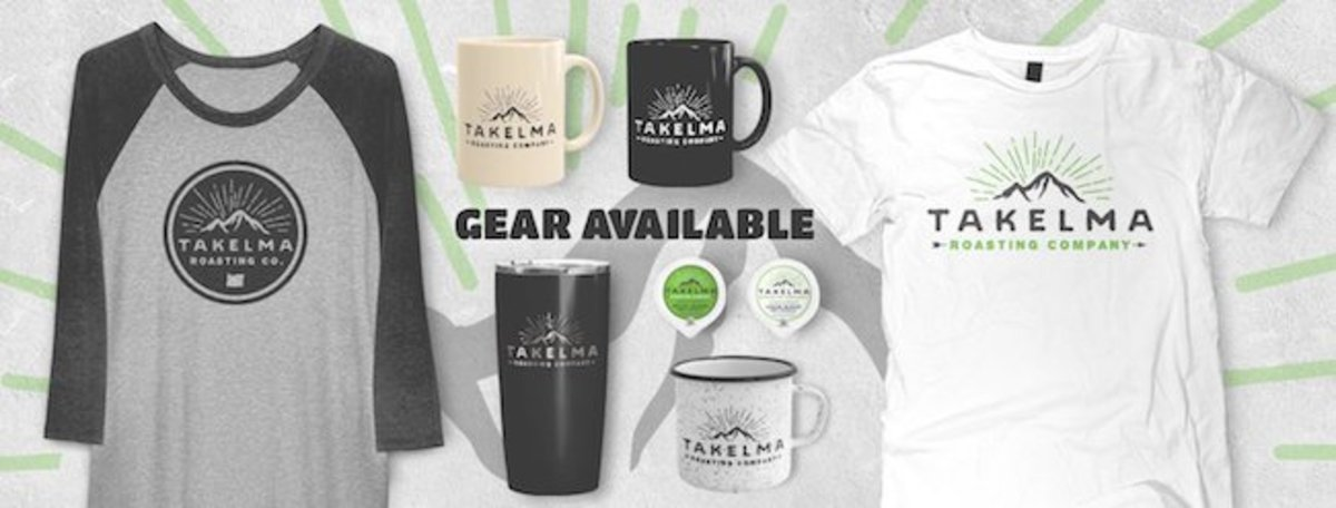 Takelma offers a range of cool Takelma-branded gear and apparel.
