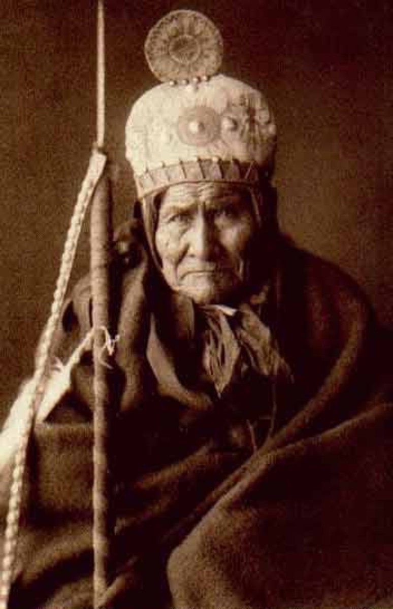 Geronimo, February 15th, 1905, by Edward S. Curtis