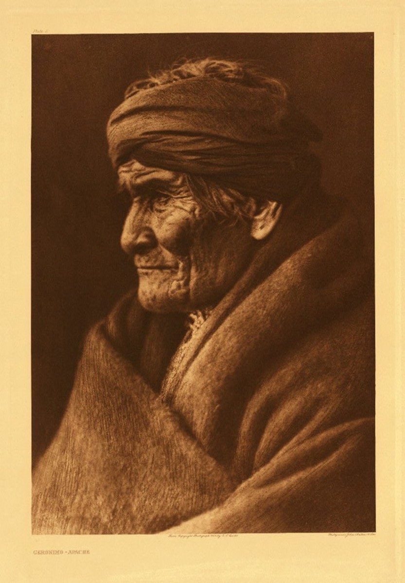 Geronimo, March 1905 by Edward S. Curtis