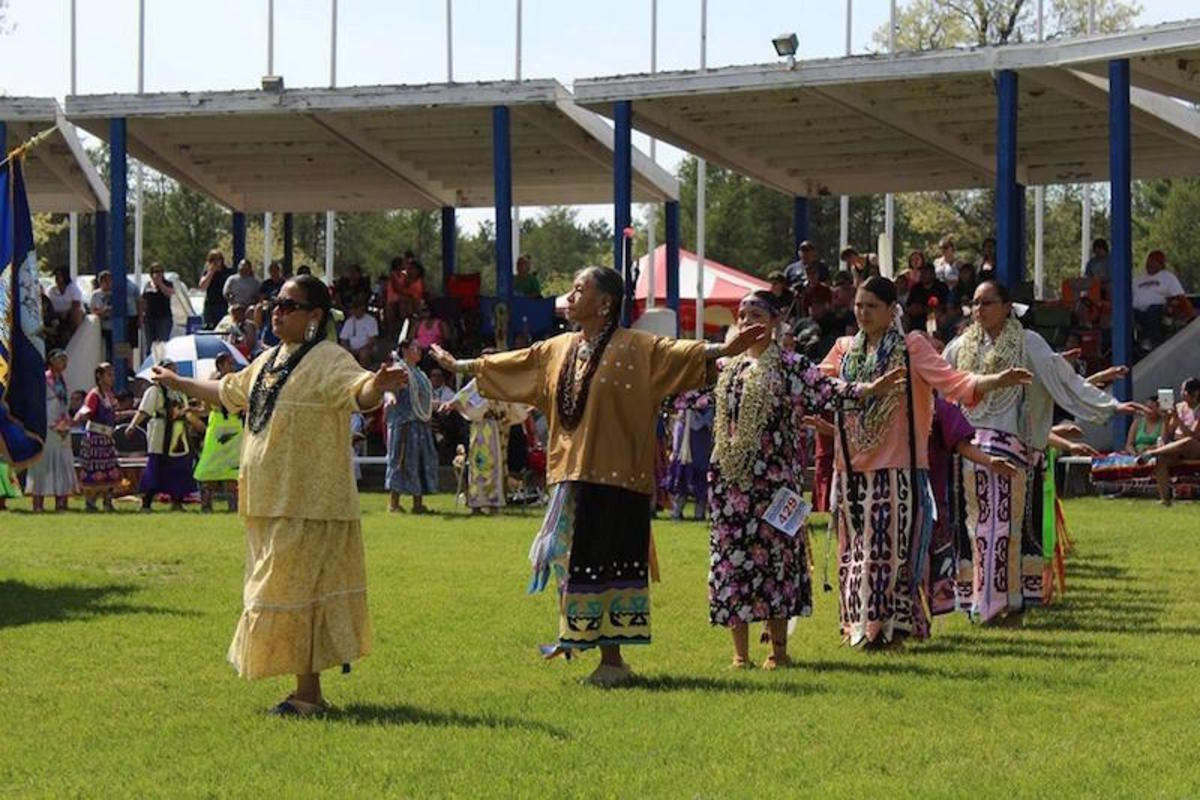 The Ho-Chunk Nation hosts two large powwows every year at Black River Falls, Wisconsin, on Memorial Day and Labor Day.