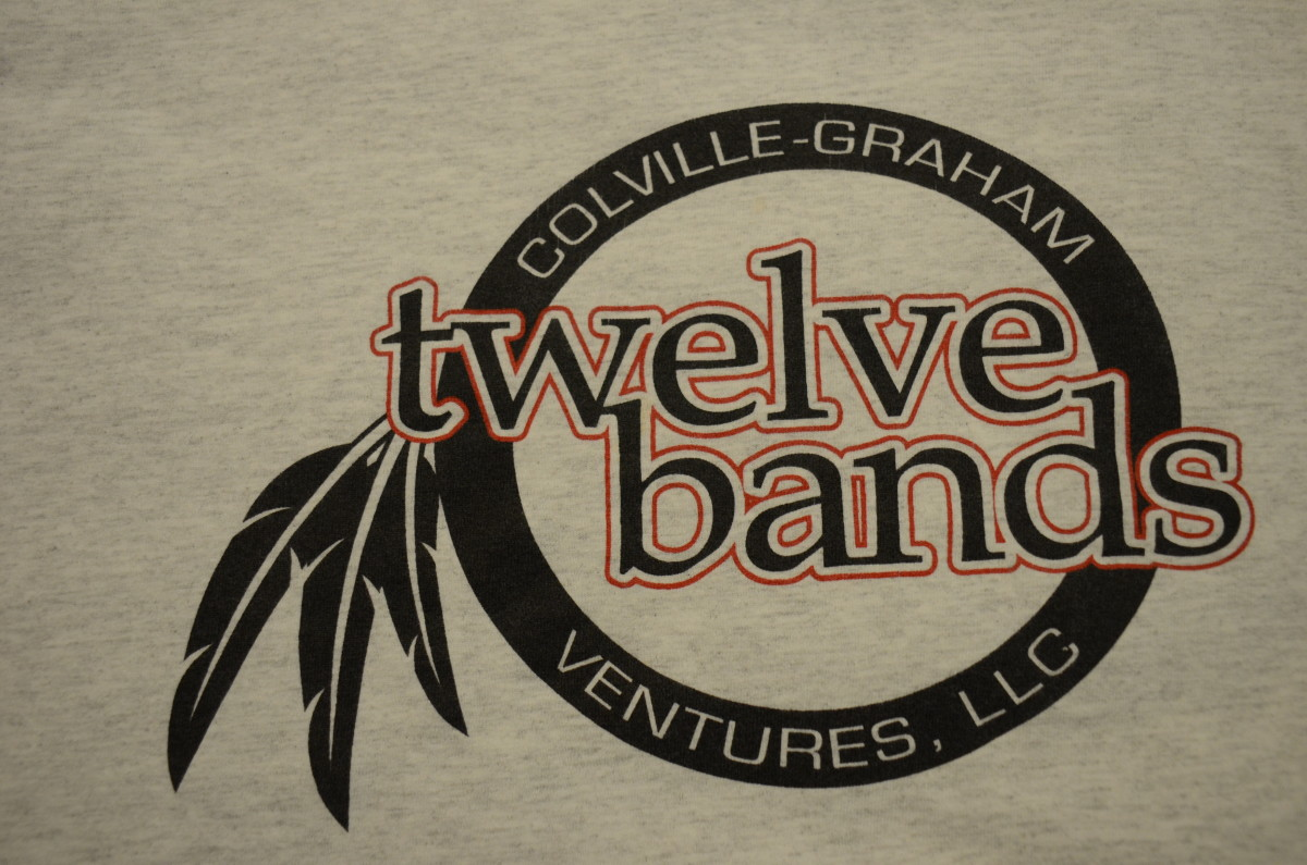 12 bands make up the Colville Confederated tribes.