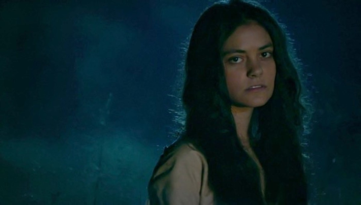 Actress Blu Hunt in 'The Originals' as 'The Hollow.' Photo credit: THE CW