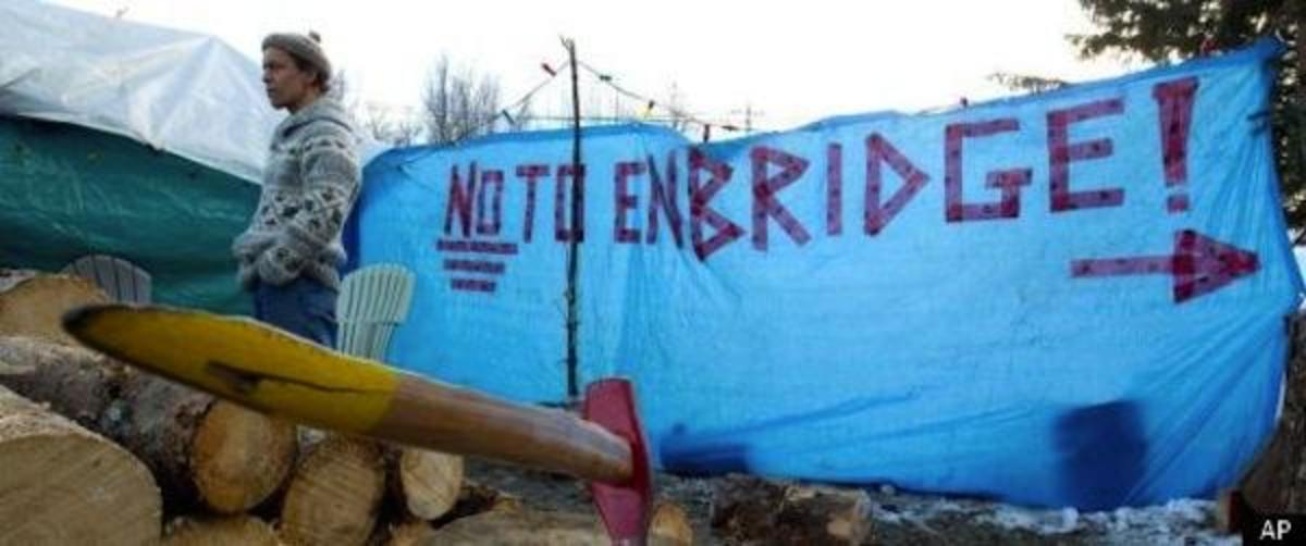 Hundreds have protested over the years, and now the Canadian government has approved Enbridge's Northern Gateway Pipeline.