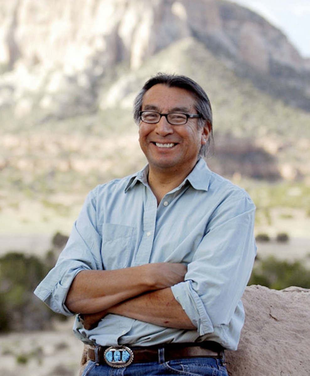 Jim Enote, Executive Director of the the A:shiwi A:wan Museum and Heritage Center in Zuni, New Mexico