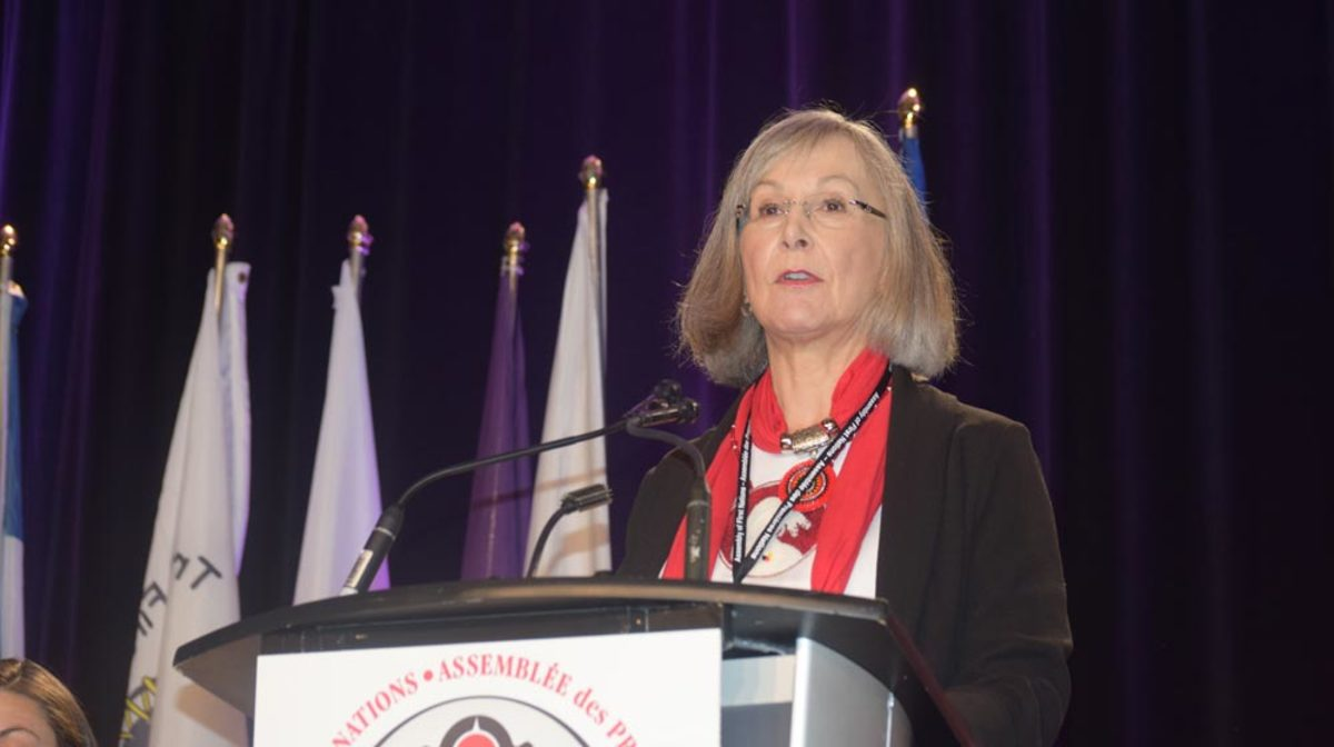 Marion Buller, commissioner of the MMIWG inquiry, says police handling of the Indigenous teenager who filed a sexual assault complaint is typical of what she heard during the inquiry's hearings. Photo: APTN file