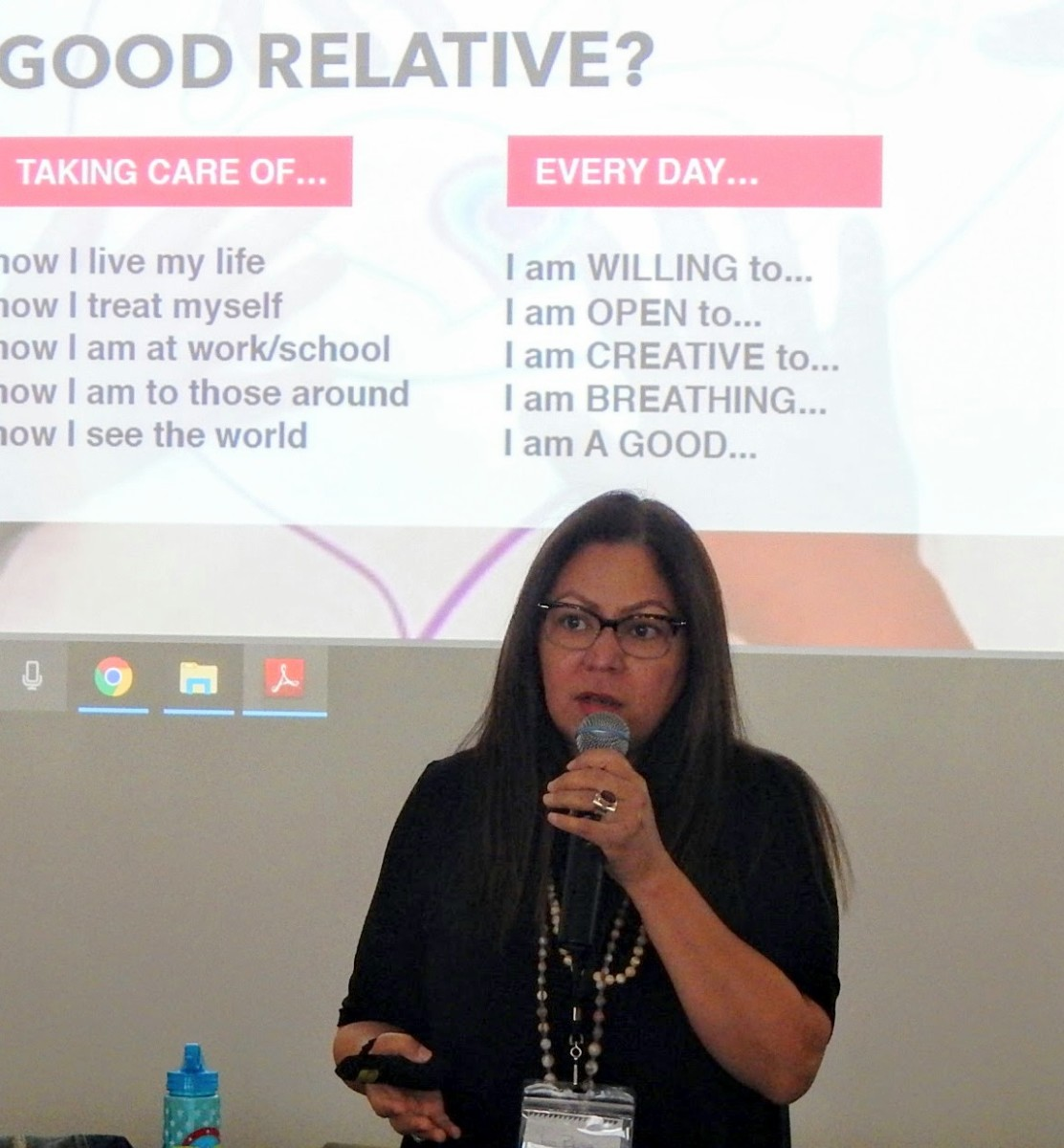 Jeri Bruno shares about what it takes to be a good relative