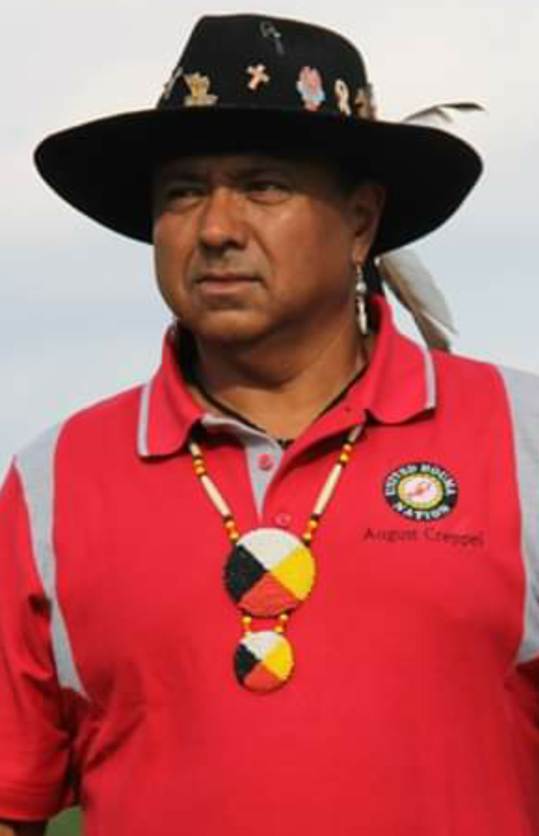 Chief August Creppel of the United Houma Nation