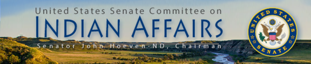 United States Senate Committee on Indian Affairs - banner lg