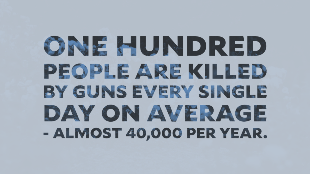 100 people killed by guns - graphic, Julián Castro