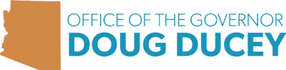 Office of the Governor Doug Ducey, Arizona - banner logo