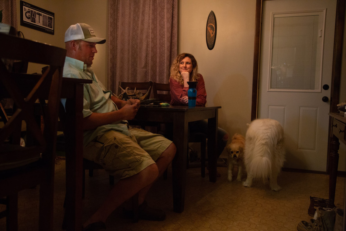 Josh and Carrie Gates have gotten counseling for the emotional trauma they suffered five years ago, when a tornado pulled Carrie from their apartment in Platteville, Wisconsin, leaving her severely injured. Carrie said she was diagnosed with PTSD in June.