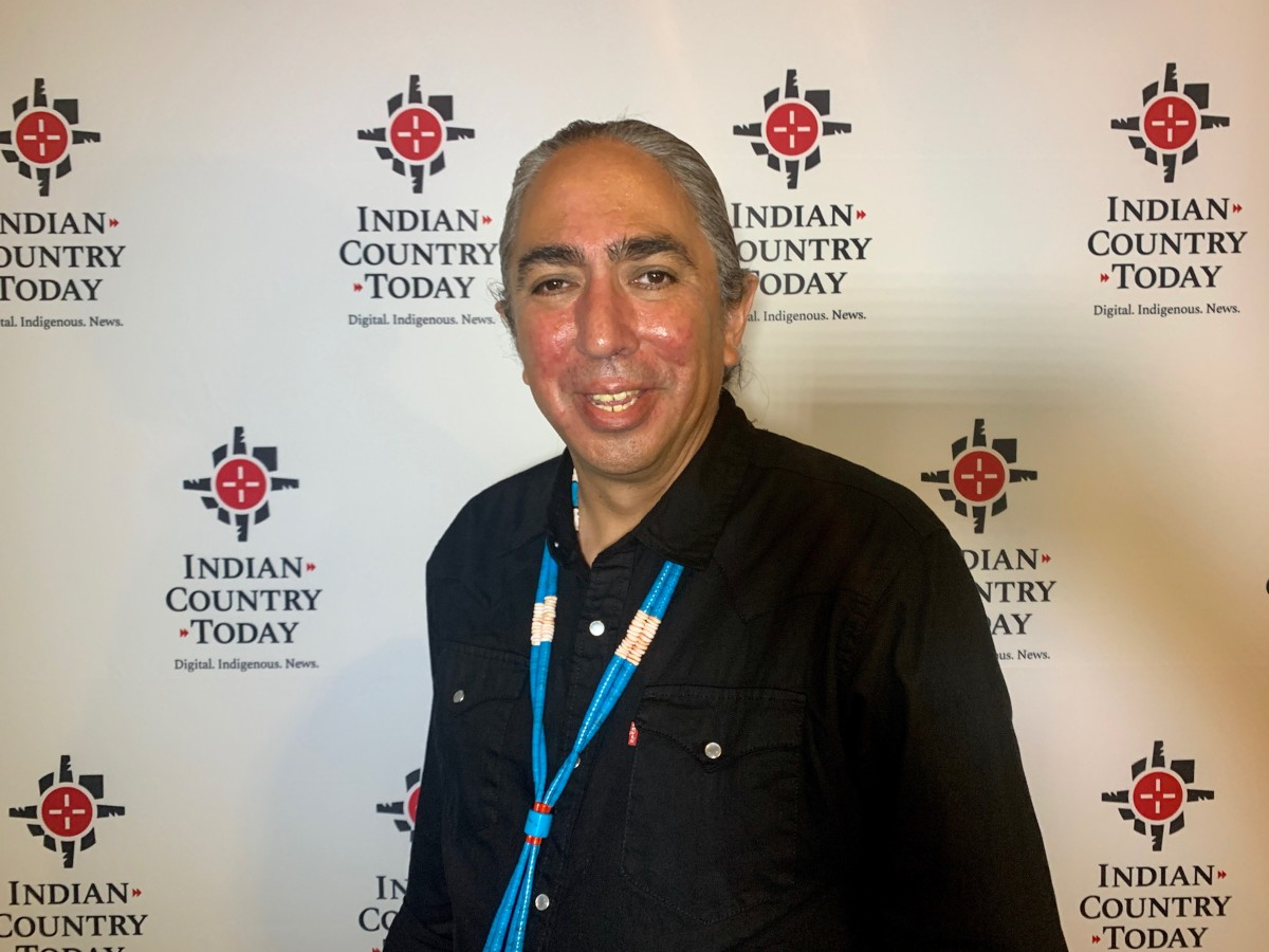 Mark Charles, Diné and Independent presidential candidate.