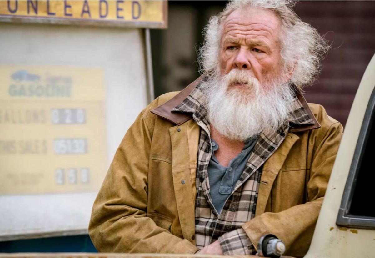 Nick Nolte is hilarious as Banning's long-lost dad - Jack English/Lionsgate