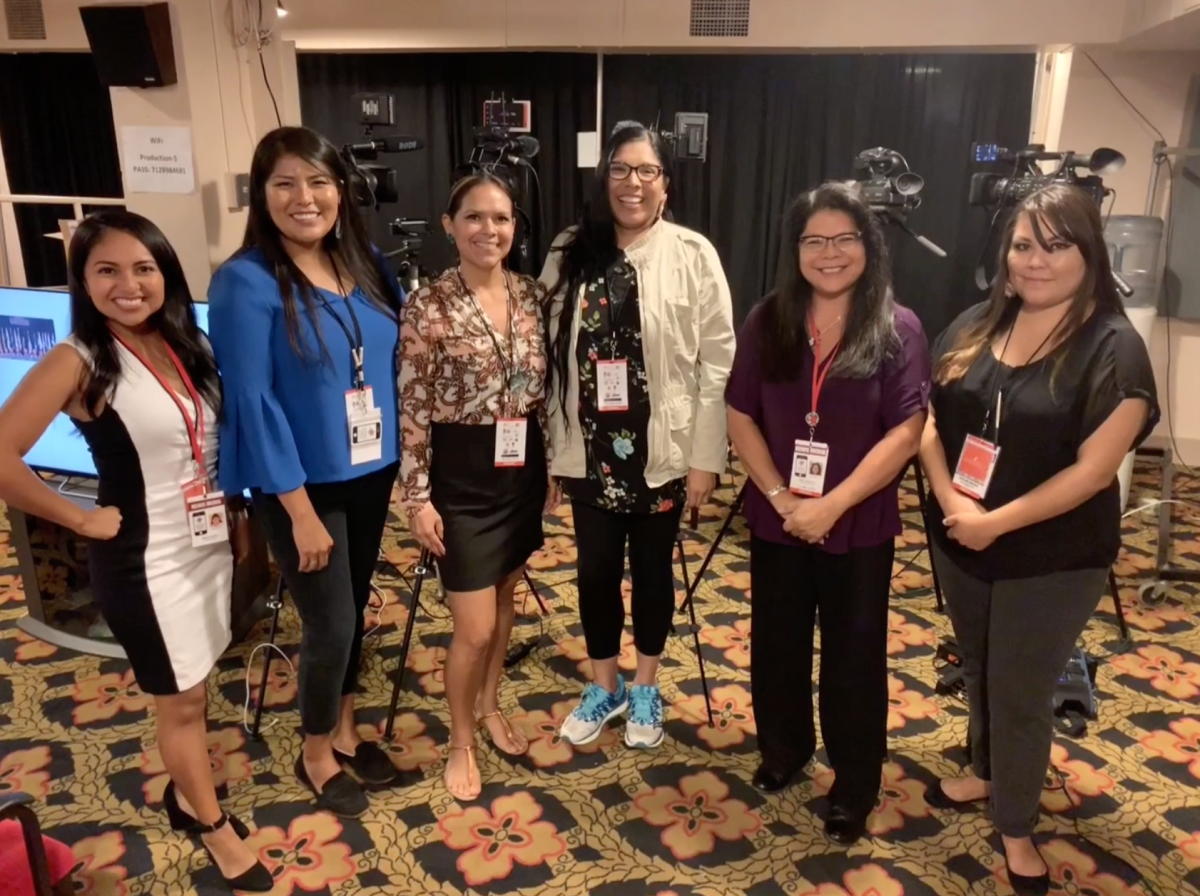 Female Native journalists (with a few missing).