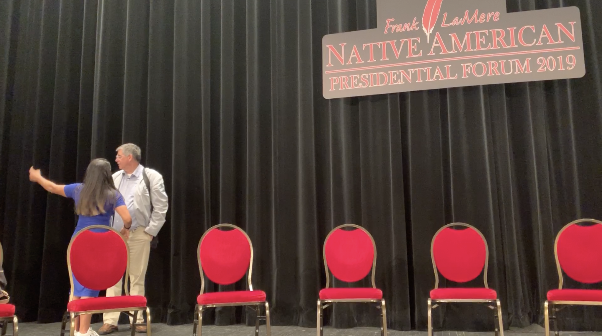 Lycia, communications director for the National Congress of American Indians, talks about the logistics with Mark Trahant.