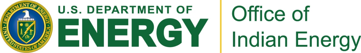 U.S. Department of Energy - Office of Indian Energy banner