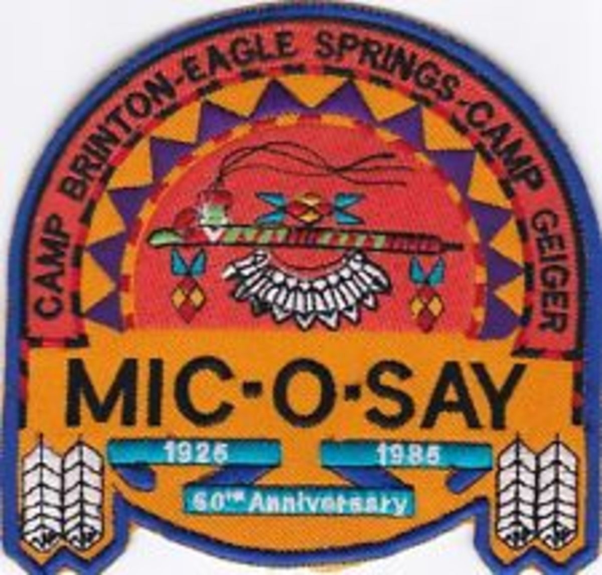 Mic-O-Say patch