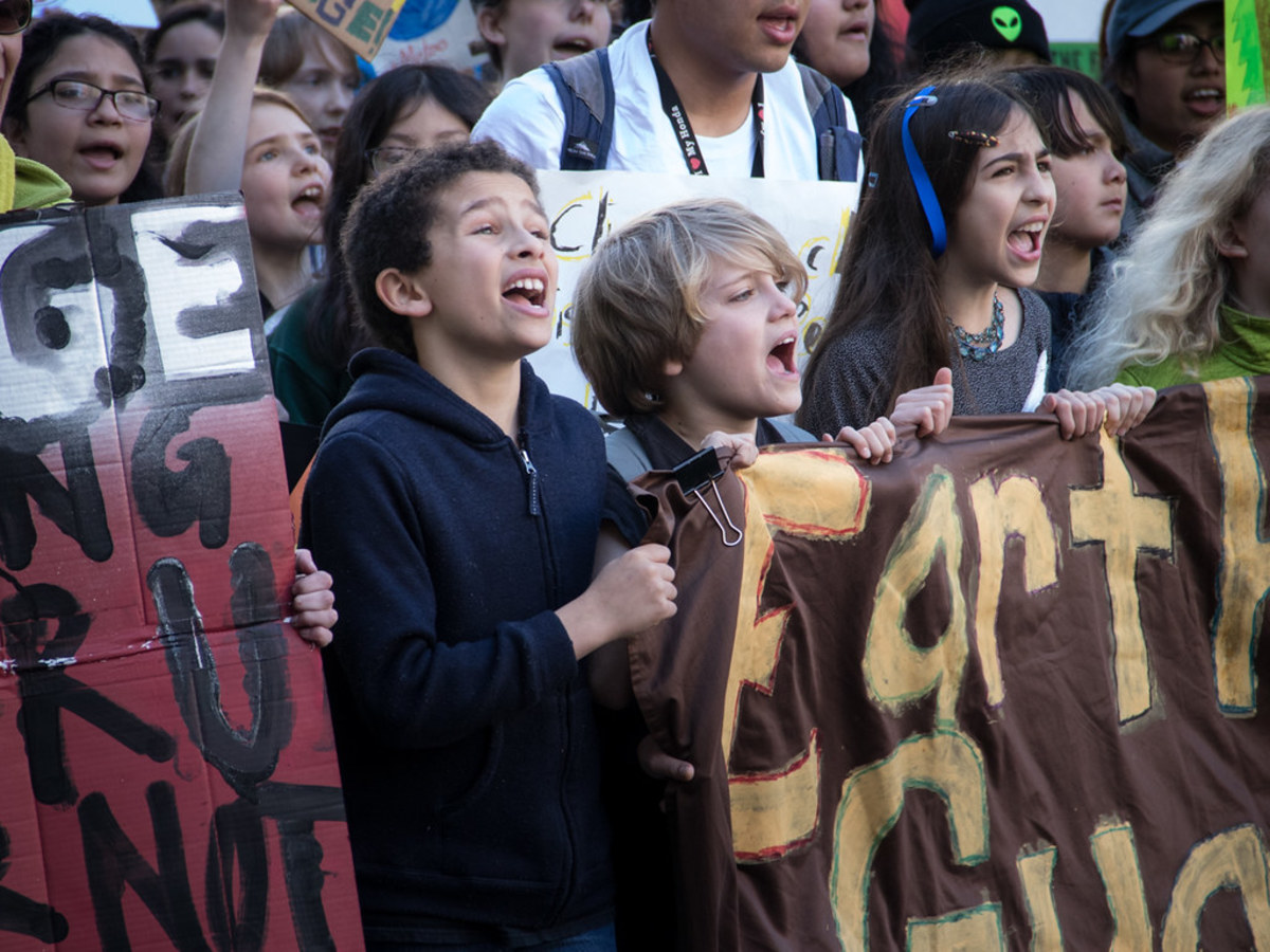 Pictured: San Francisco Youth Climate Strike, March 15, 2019.