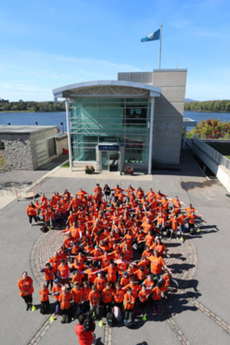 Royal Canadian Geographical Society and the Orange Shirt Society proud to announce the Paths to Reconciliation Project.