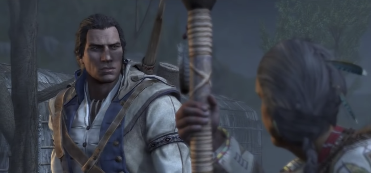 Connor Kenway, Ratonhnhaké:ton, as portrayed in Assassin's Creed III by Ubisoft - screen capture