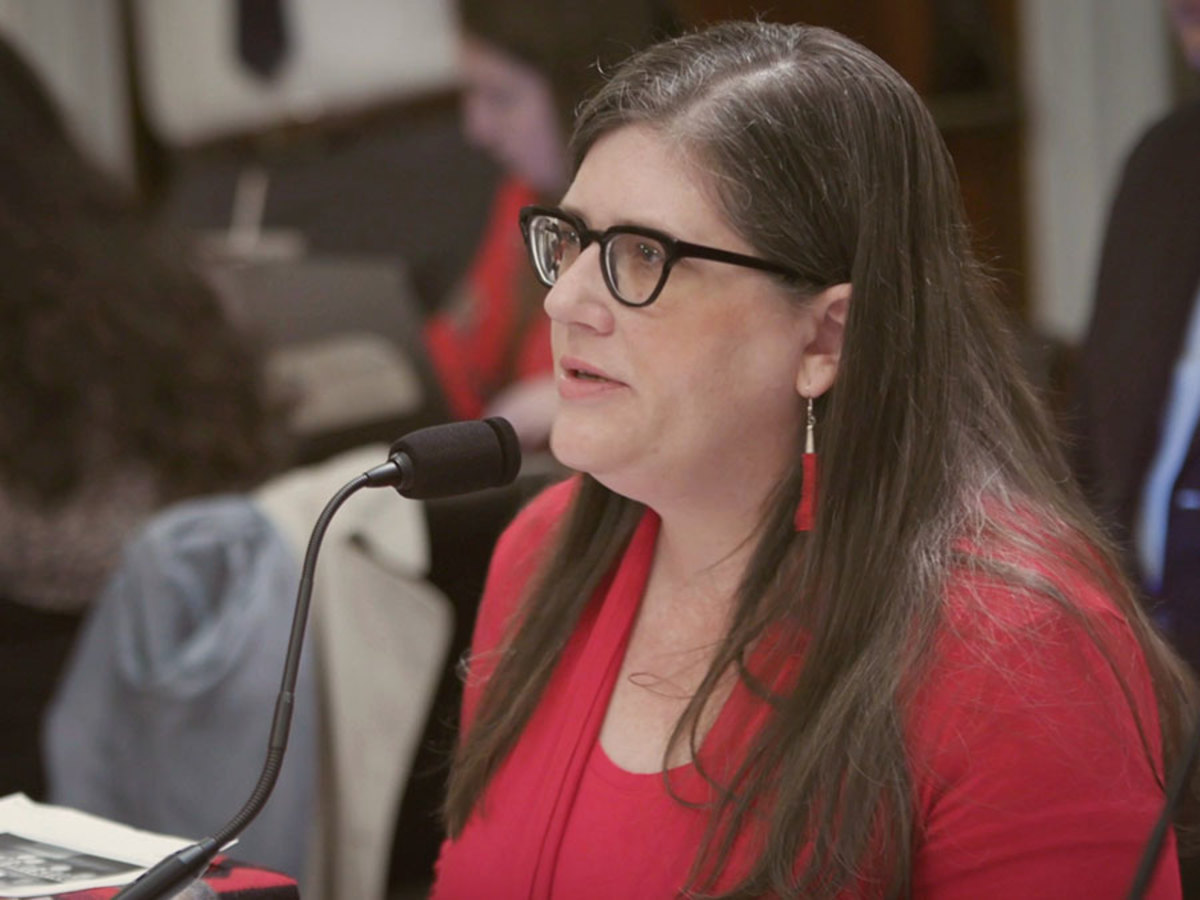 """Sarah Deer is author of """"The Beginning and End of Rape: Confronting Sexual Violence in Native America."""" (Newsy / Carrie Cochran)"""