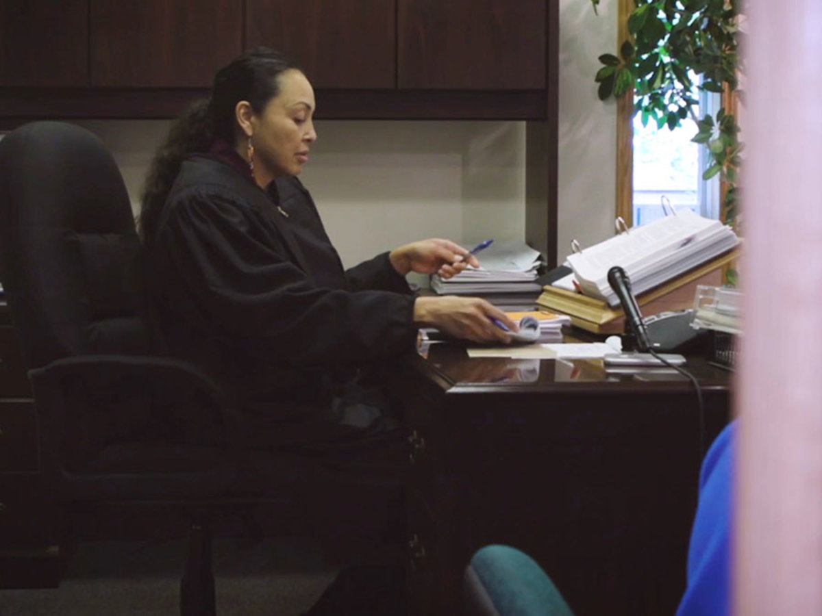 Stacie Smith is chief judge of the Fort Peck Tribal Court. (Newsy / Carrie Cochran)
