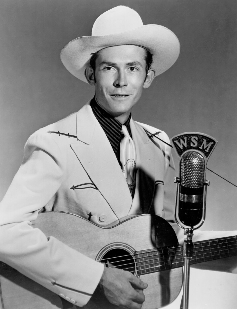 Williams is regarded as one of the most influential singers and songwriters of the 20th century despite his early death at age 29. Promotional photo