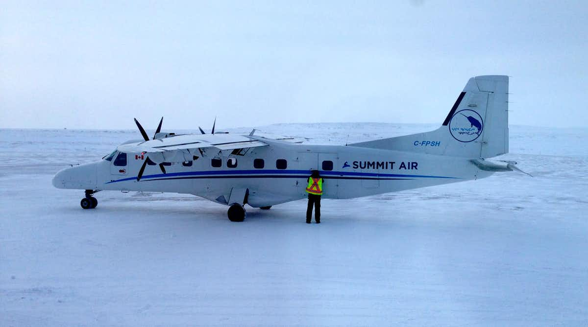 Pictured: People must fly out of remote communities for cancer treatment.