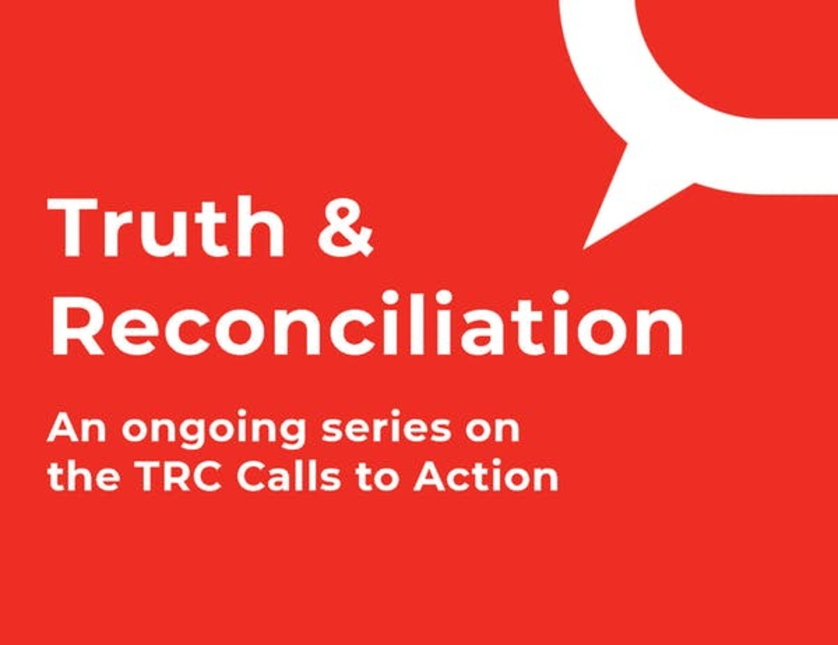 Truth & Reconciliation Canada - Calls to Action - The Conversation series logo