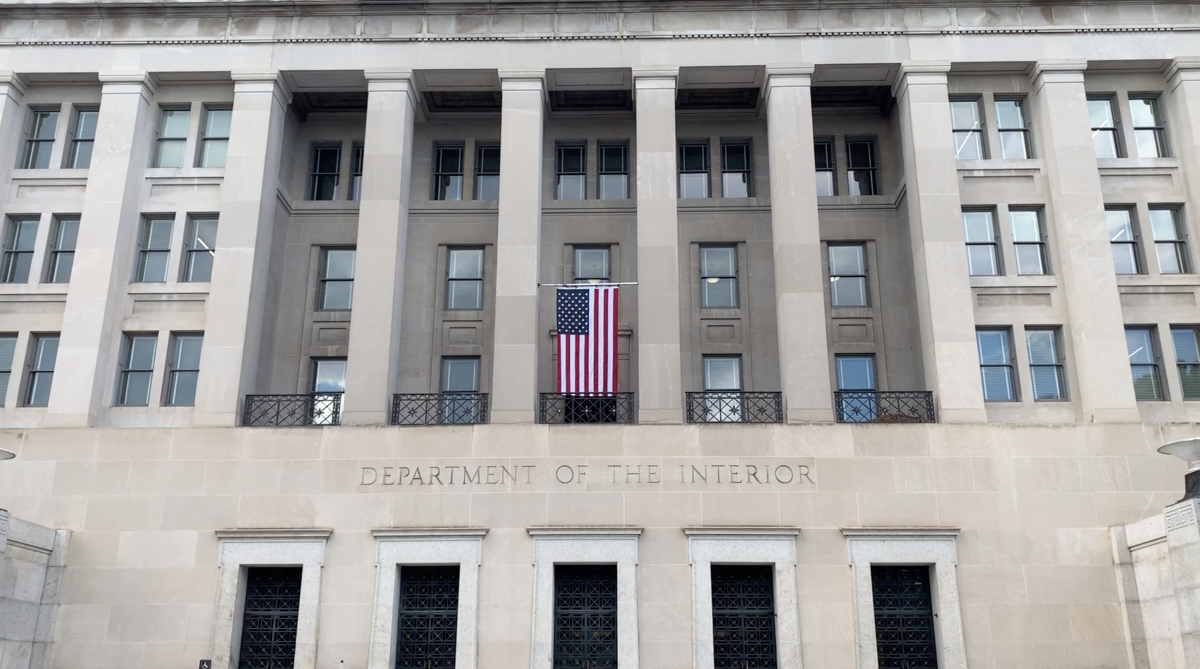 The U.S. Department of Interior in Washington, D.C. (Photo by Jourdan Bennett-Begaye, Indian Country Today, File)