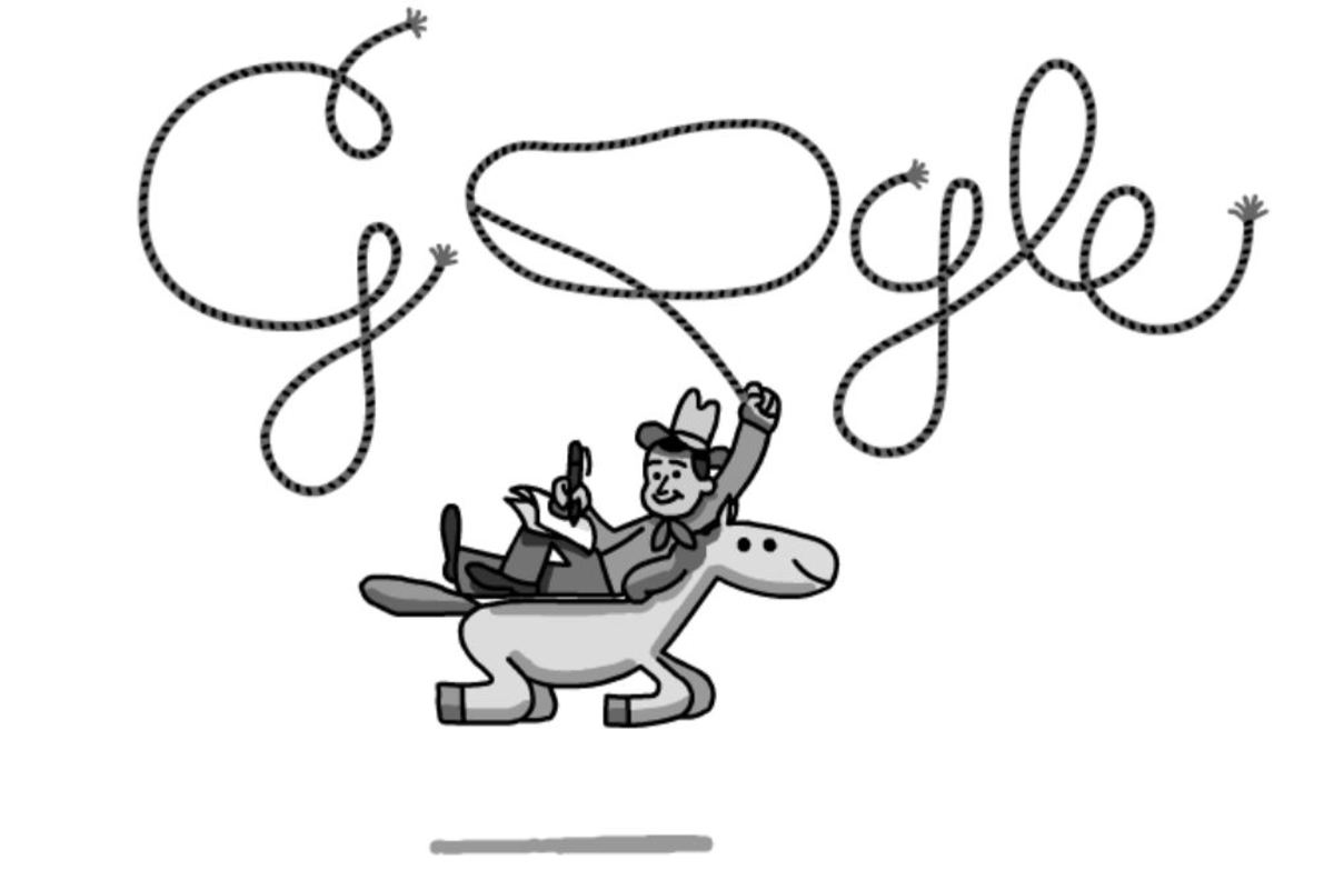 Will Roger's Google Doodle