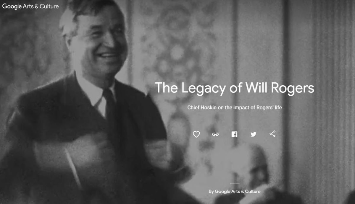 The Legacy of Will Rogers