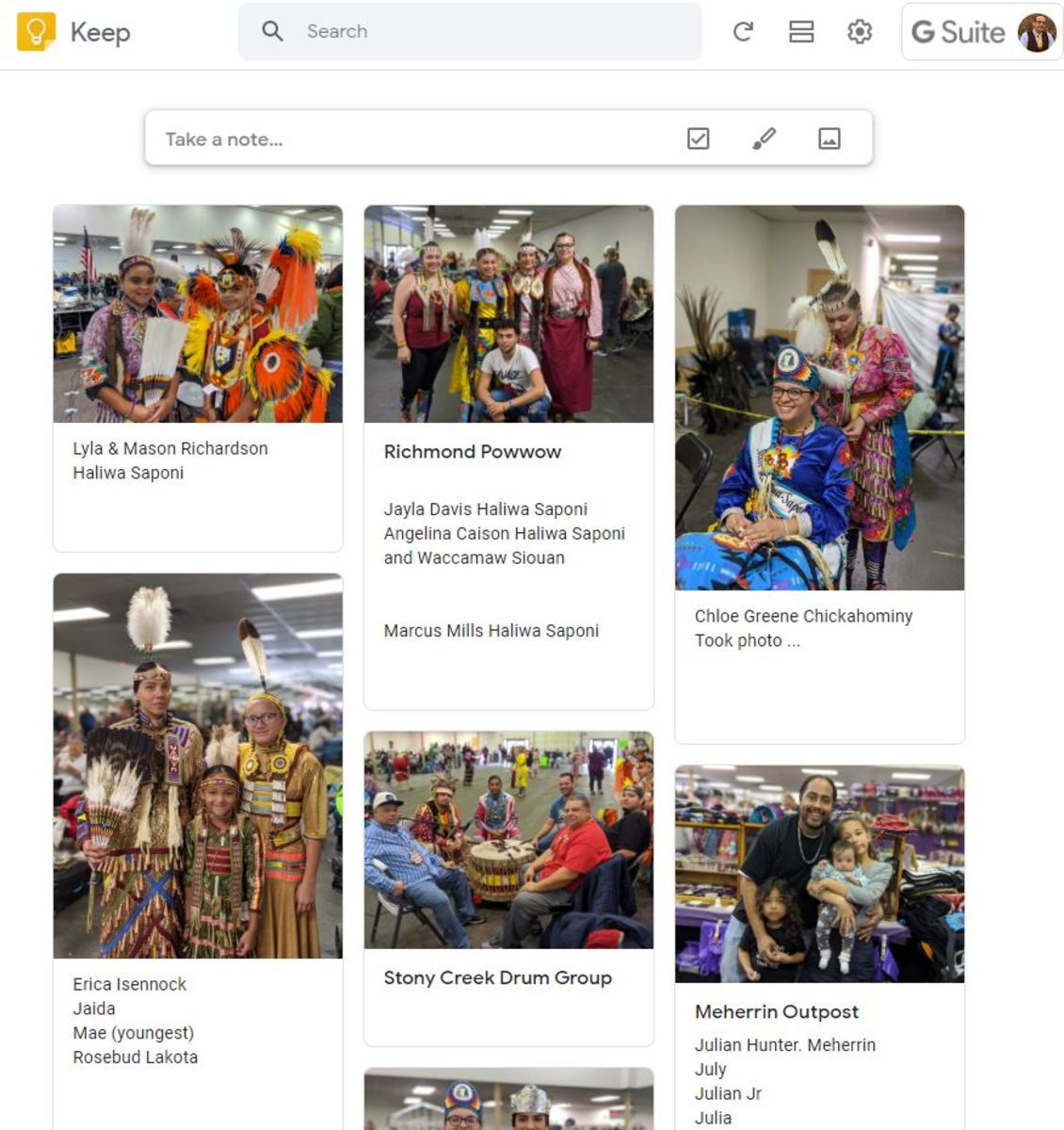 I used Google Keep on my phone and here's how it looks when it uploads to my computer.