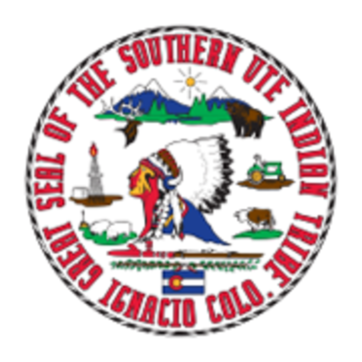 Southern Ute Indian Tribe - seal